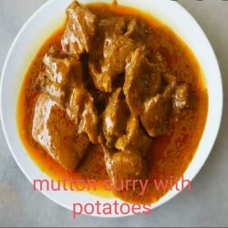 Mutton Curry with Potatoes