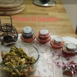 Mixed French Beans With Carrots
