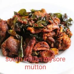 South Indian Mysore Mutton